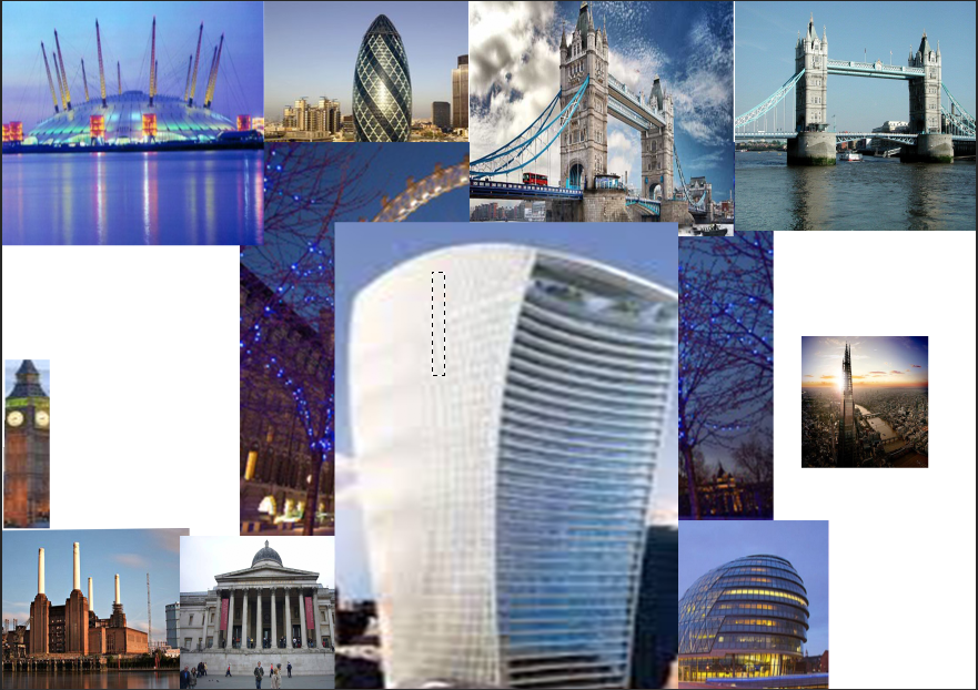 First Task Famous Building Moodboard Imedia And Art And